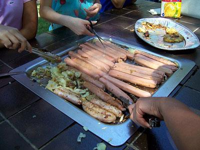 comidas e bebidas típicas da Austrália - Barbecue