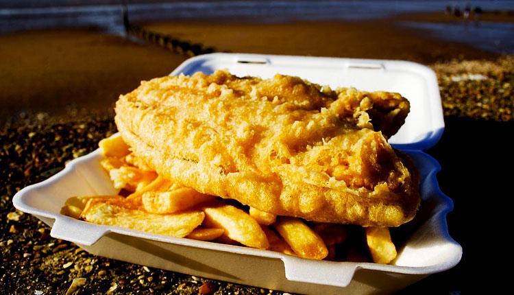 comidas e bebidas típicas da Austrália - Fish & Chips