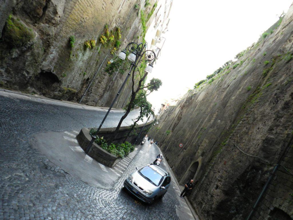 Rua encantadora em Sorrento