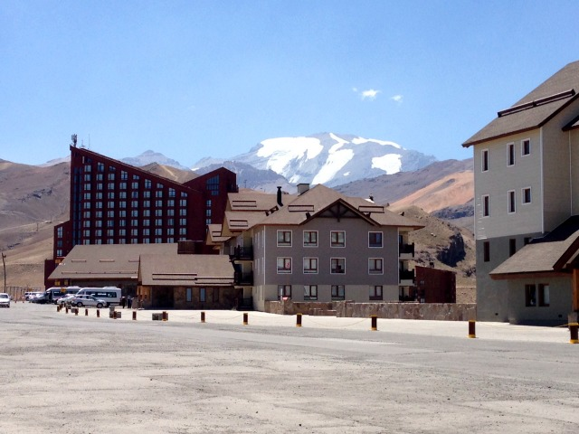 Famoso hotel no Valle Nevado