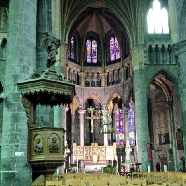 Visual da Igreja de Notre-Dame