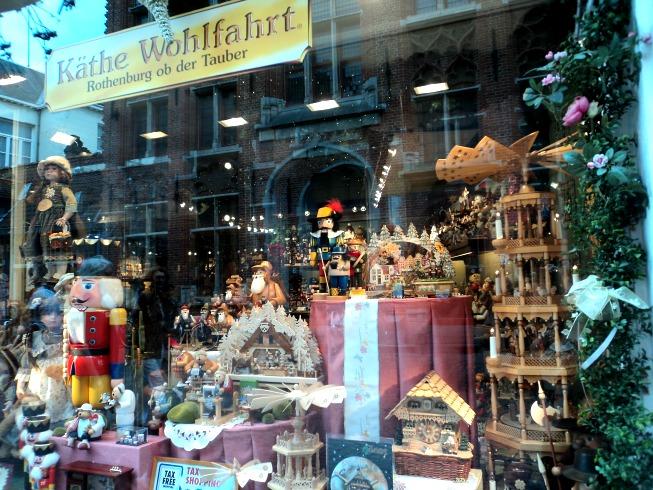 Loja que vende produtos de Natal