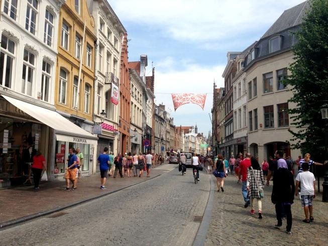 Bruges e suas ruas fofas