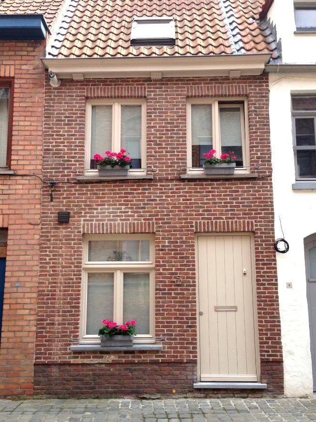 Bruges e suas lindas casas