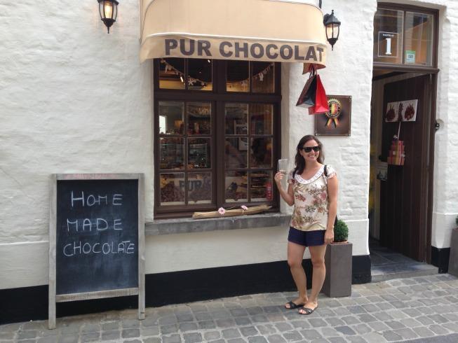 Loja de chocolate