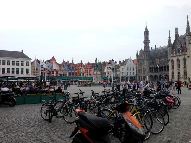 Praça principal - Grote Markt