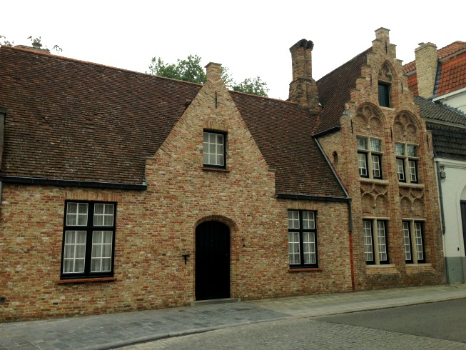 Casas fofas em Bruges