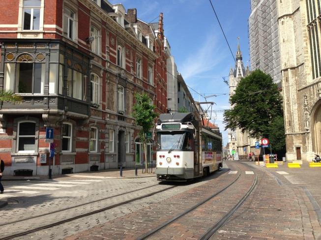 Linda cidade de Gent