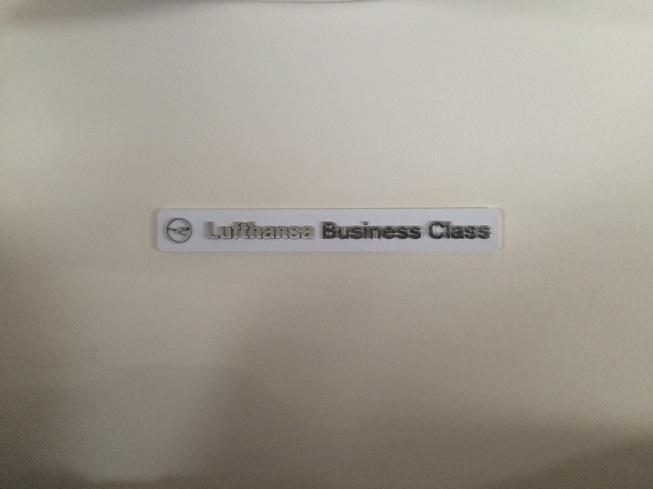 Classe executiva da Lufthansa