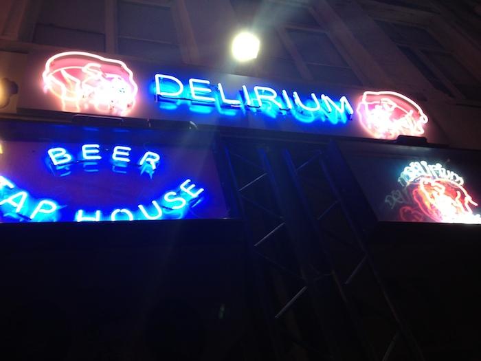 Delirium Café Bélgica - Fachada