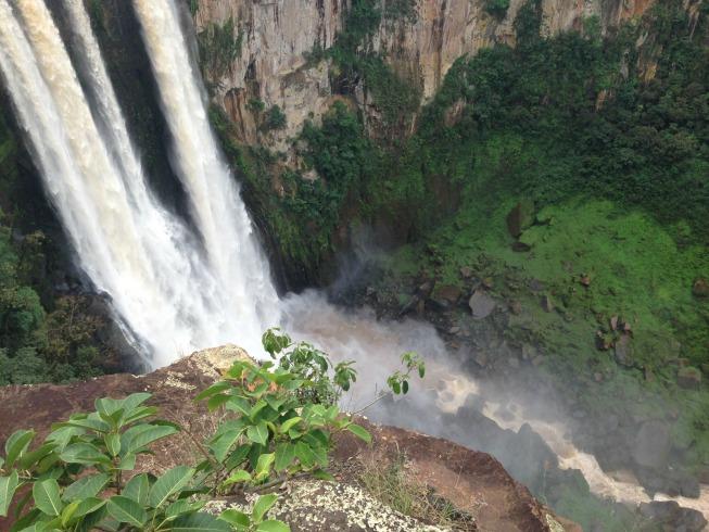 Salto do Apucaraninha: muito lindo!