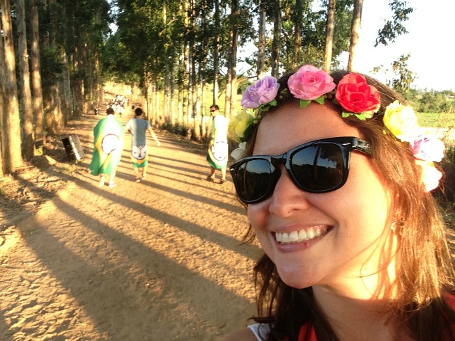 Chegando no Tomorrowland Brasil