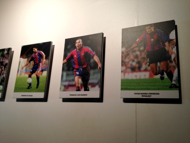 Romário, Ronaldo e Rivaldo