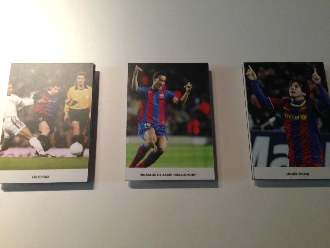 Figo, Ronaldinho e Messi