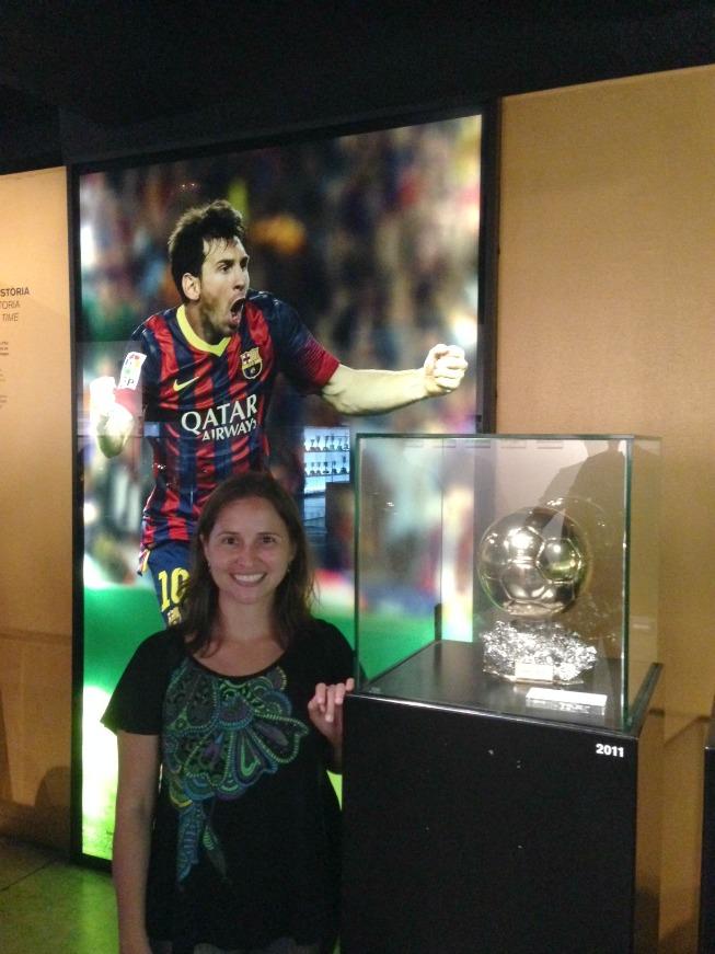 Bola de ouro do Messi
