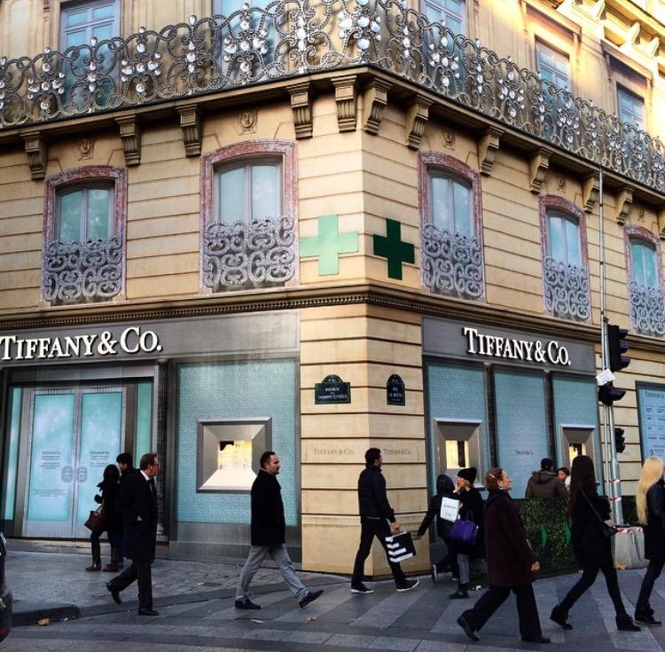 Tiffany & Co da Champs Élysées