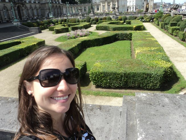 Palácio Real e seu jardim