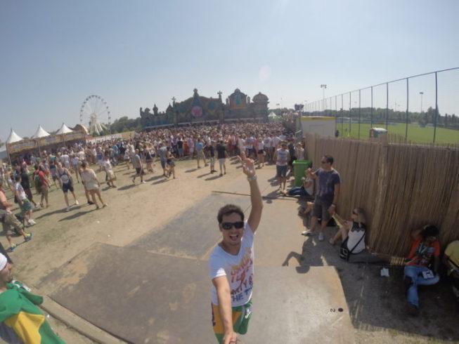 Tomorrowland 2014 - entrada principal