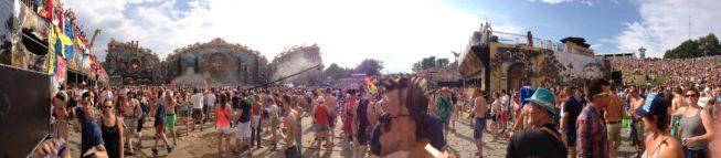 Tomorrowland 2014 - Panorâmica do palco principal