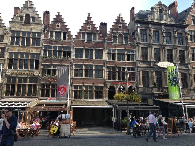 Restaurantes na Grote Markt