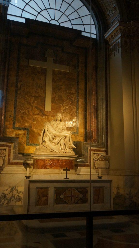 Pietà de Michelangelo Vaticano