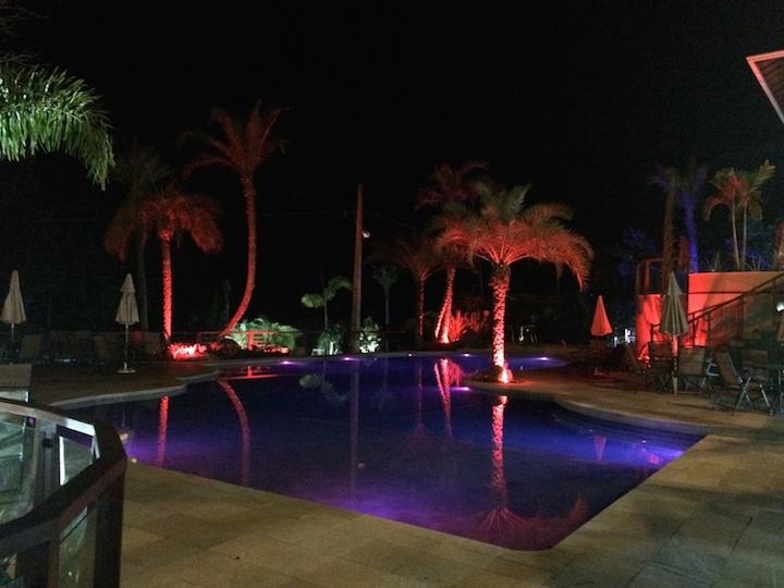 Piscina Iluminada Eco Resort Serra Imperial