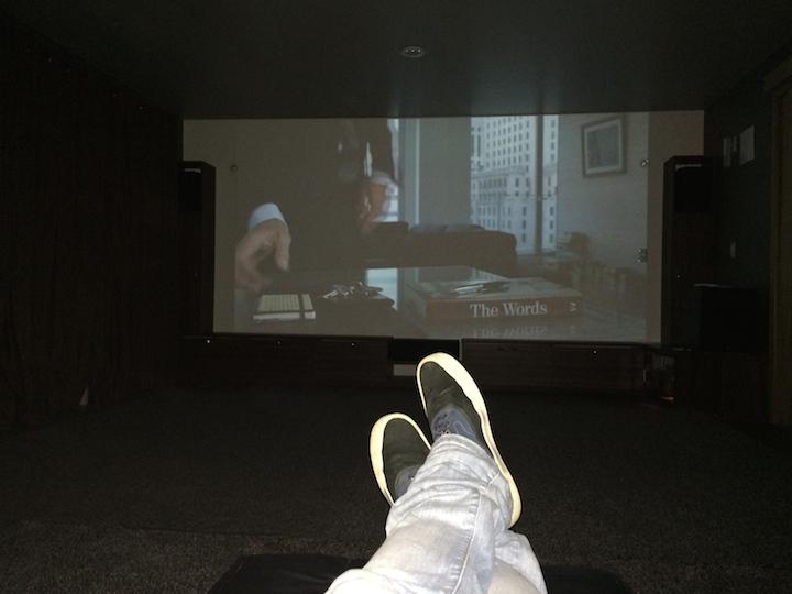 Telão do cinema do Eco Resort Serra Imperial