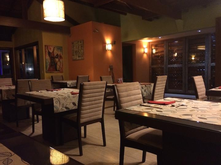 Restaurante do Eco Resort Serra Imperial