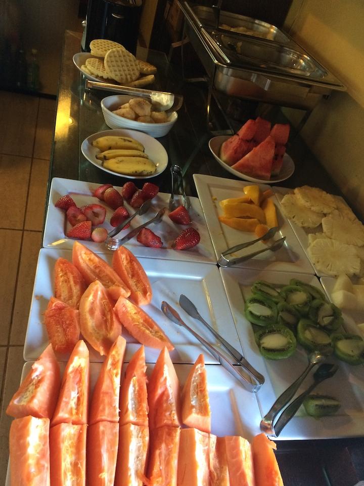 Café da manhã - Mesa de frutas