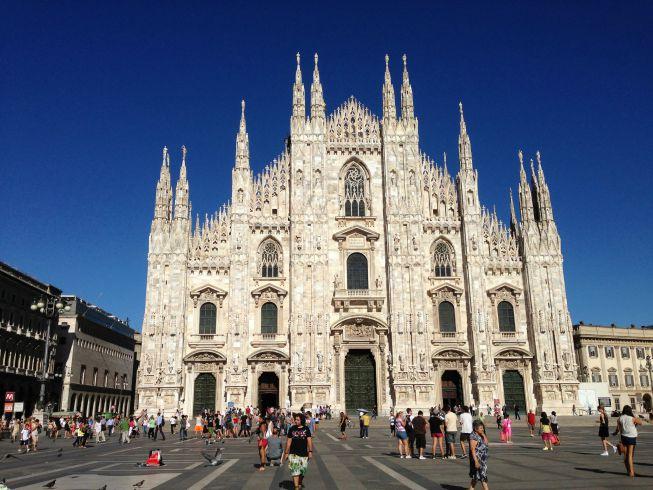 Catedral de Milão - belíssima!