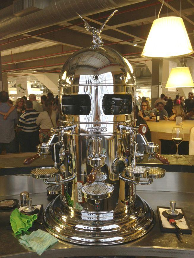 A máquina de fazer café - Caffè Vergnano