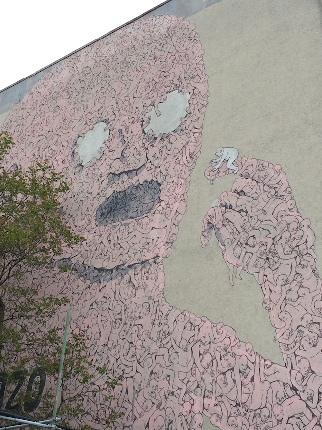 Graffiti em Berlim