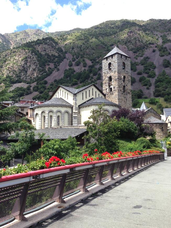 Andorra o que fazer em Andorra La Vella - Igreja de Sant Esteve