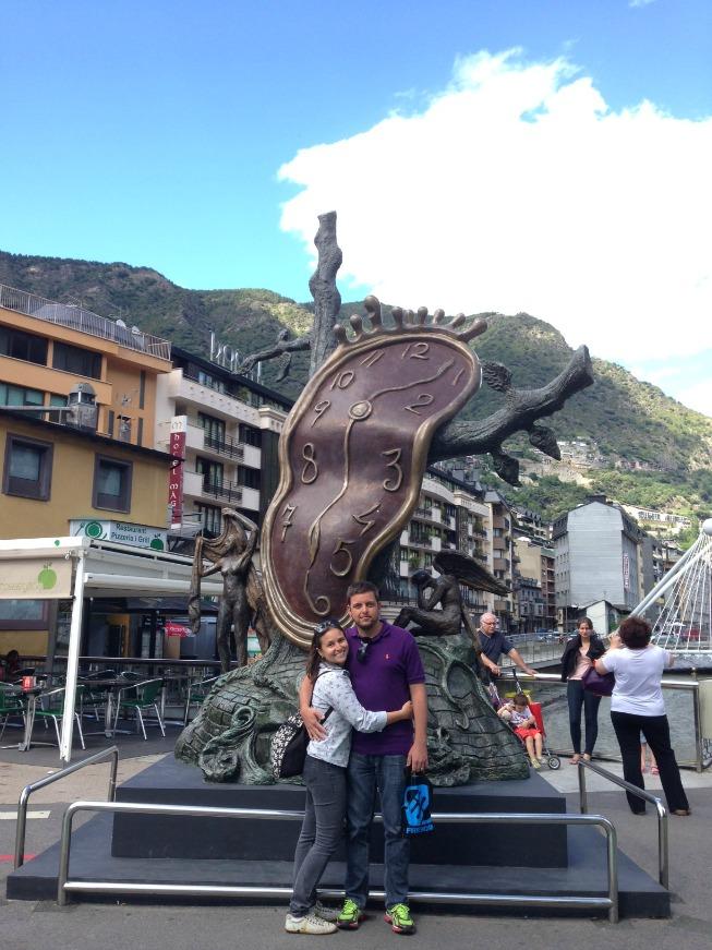 Andorra o que fazer em Andorra La Vella - Escultura de Salvador Dalí