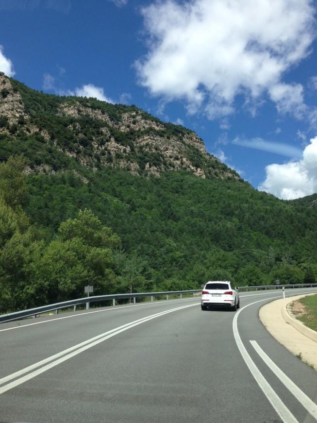 Na estrada para Andorra