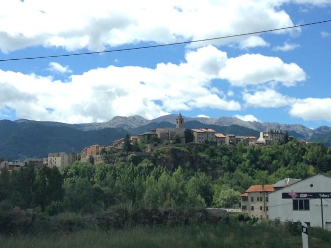 Vilarejo lindo - já perto de Andorra