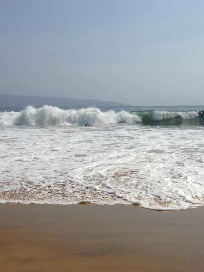 A praia de Reñaca