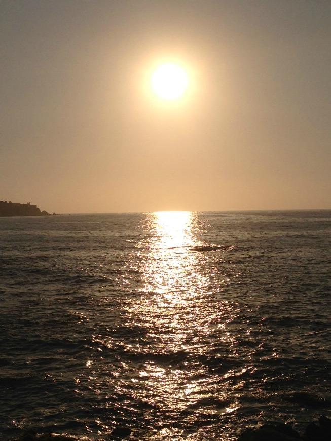 O dia estava perfeito em Viña del Mar