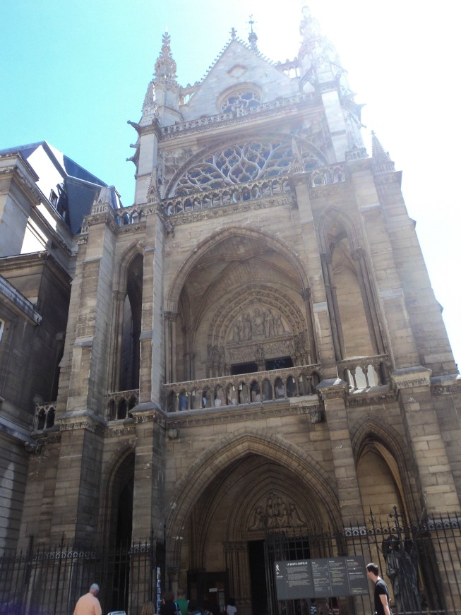 Entrada da Sainte Chapelle