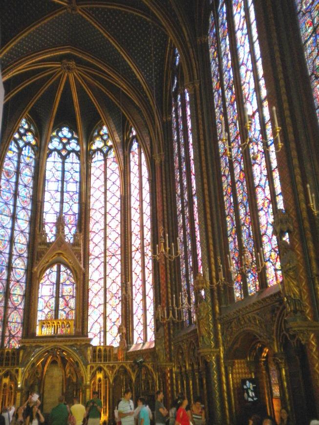 Sainte Chapelle e seus vitrais