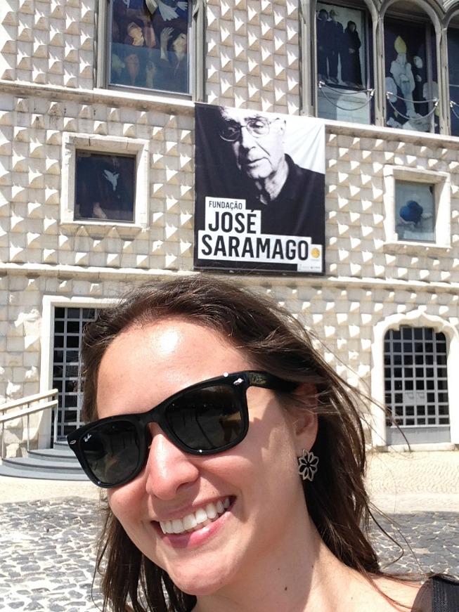 O prédio da Fundação José Saramago