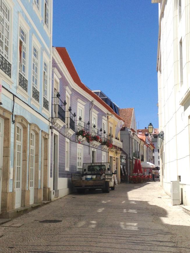 Pequenas ruas em Aveiro