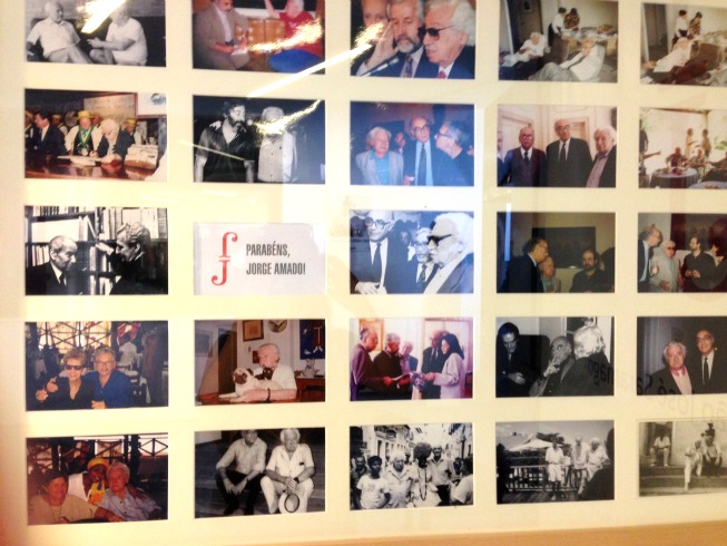 Exposição em homenagem a Jorge Amado