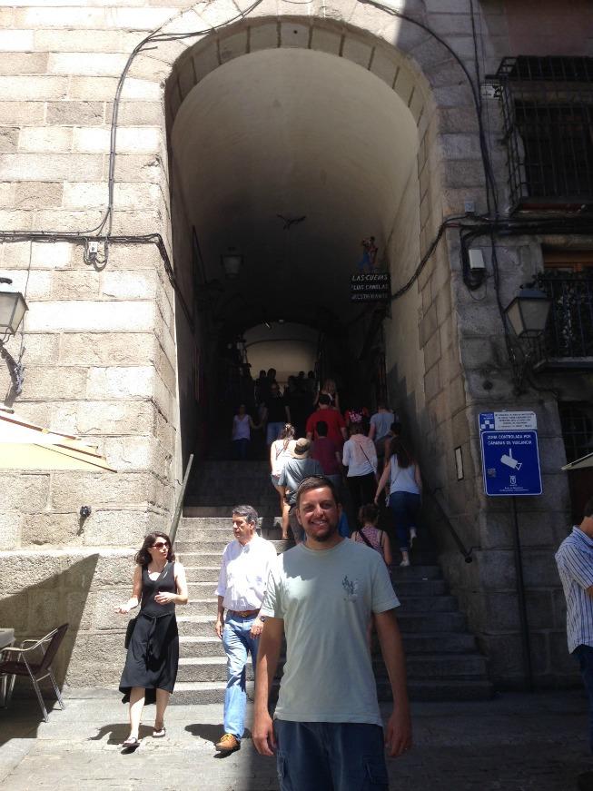 Entrada da Plaza Mayor