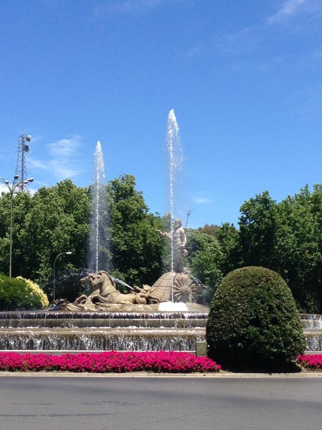 Fonte de Netuno, Madrid