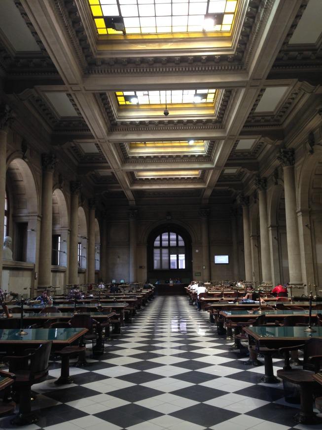 Santiago em 2 dias - Dia 1: Biblioteca Nacional do Chile