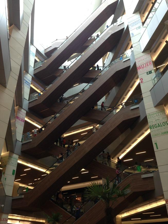 Shopping dentro do Costanera Center