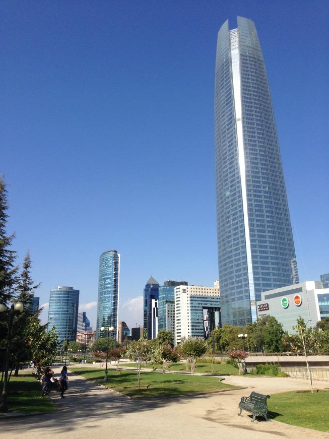 Santiago em 2 dias - Dia 1: Costanera Center
