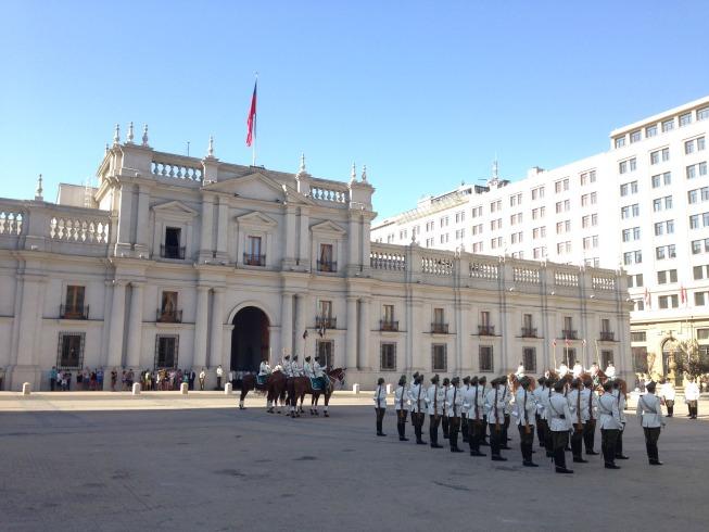 Santiago em 2 dias - Dia 1: Palácio de La Moneda