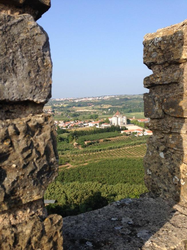 Vista da muralha